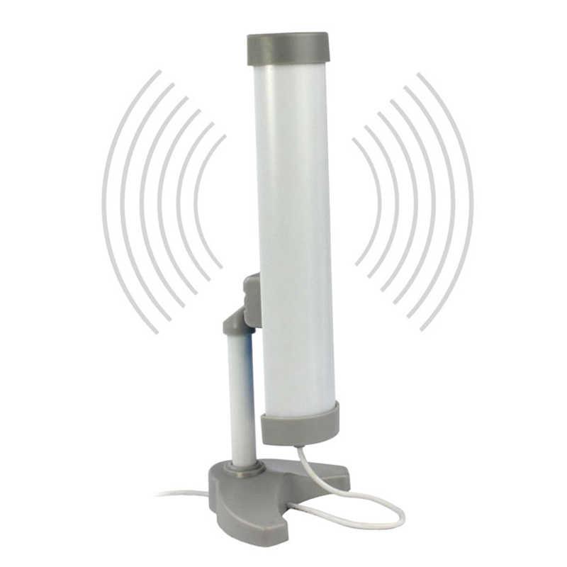 Longo alcance (3km) alta potência (5800mw) 58dbi antena adaptador usb sem fio wifi, decalque 12