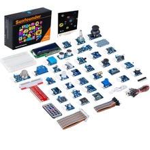 Sunfounder, kit de 37 módulos em 1 caixa sensor v2.0 para raspberry pi 4b 3b + 3b 2b b + rpi 1 modelo b + kit iniciante