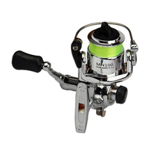 Portable Size High Strength Aluminum Alloy Spinning Fishing Reel Tackle Small 4.3:1 Accessories