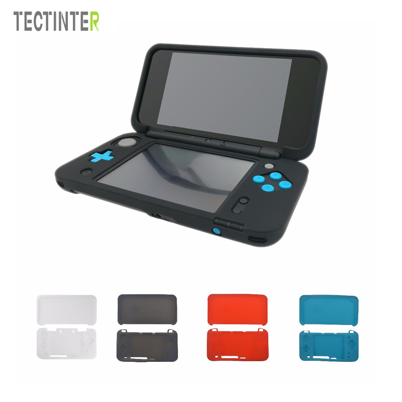 Soft Silicone Skin Shell Case Cover For Nintend 2DS XL Game Console Ultra Thin Rubber Gel Protective For New 2DS LL Accessories
