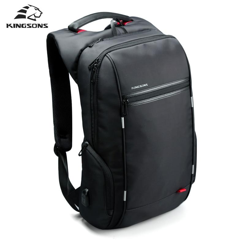 Модные мужские многофункциональные дорожные рюкзаки для мужчин, зарядка через usb, сумки для ноутбука, сумка для деловых поездок, водонепрон... - 3