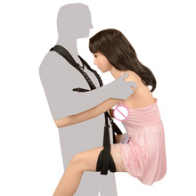 2019 Adult Sex Swing Chairs for Couples Flirting Bdsm Bondage Sex Furniture Straps Swing Restraint Adjustable Sex Tools adult sex swing restraint fetish bondage with adjustable soft straps love sex door swing sexy sling sex hanging toys for couples