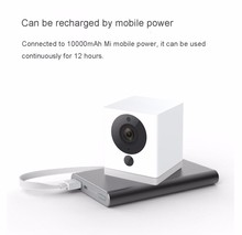 D'origine XiaoMi XiaoFang Portable Smart IP Caméra Night Vision 9 m 1080 P F2.0 Grande Ouverture Ratating Base Magnétique Adsorption
