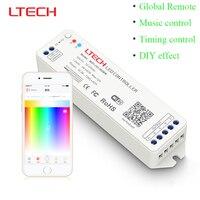 WiFi-101-rgbw;Mini WiFi LED Controller DC12-24V Smartphone iOS Android APP WiFi Control for 5050 3528 RGB RGBW RGBWW Led Strip