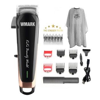 전문 무선 헤어 커터 헤어 트리머 6500 rpm 헤어 클리퍼 stagger-tooth blade wmark NG-103 조절 길이