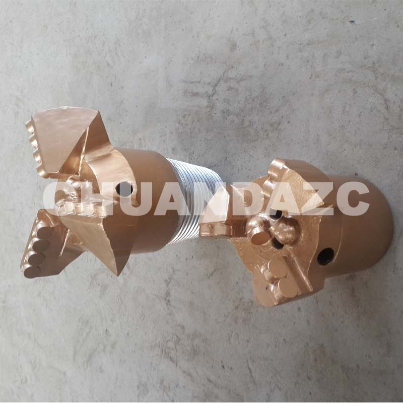 Best PDC cutter bit 94mm PDC drag bit for water drilling 98mm steel body pdc bit for water well drilling
