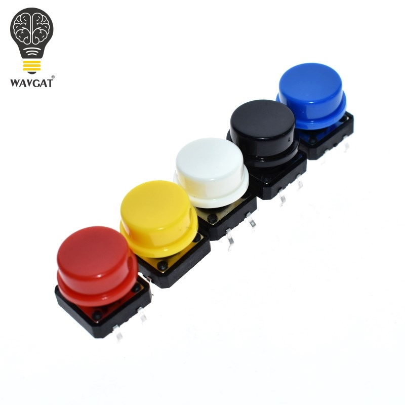 WAVGAT 12X12MM Big Key Module Big Button Module Light Touch Switch Module With Hat High Level Output For Arduino Usb DIY Kit