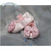 Детская обувь первые ходунки мокасины для новорожденного мягкие мальчики девочки подошва Нескользящая пайетки бант для ребенка Младенцы п