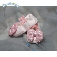 Baby Shoes First Walkers Newborn Baby Moccasins Soft Boys Girls Sole Non Slip Sequin Bowknot For Baby Infant First Walkers Shoes