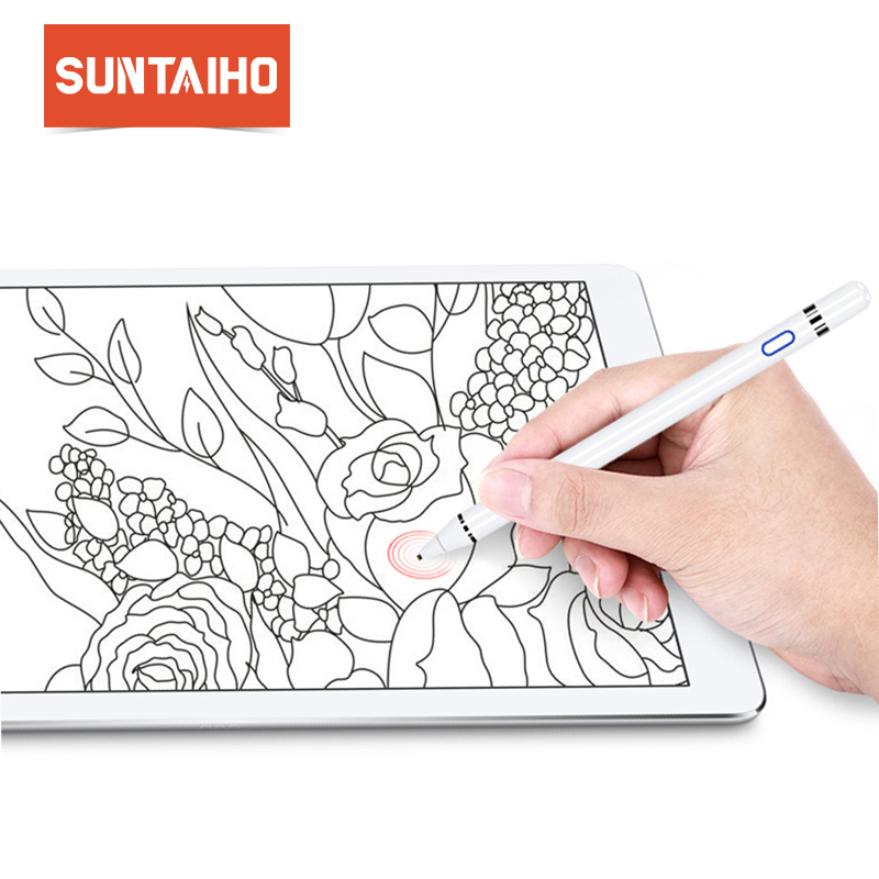For Apple Pencil Suntaiho stylus capacitance touch Pencil for apple ipad with retail Package for apple pen for Tablet devices все цены