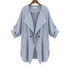 Women Windbreaker Fashion Casual Thin Long Tops Outwear Jacket Coat Hot