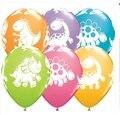 Бесплатная Доставка 12 шт./лот Динозавров Шары Globos Латекс Воздушные Шары Ребенка День Рождения Украшения Поставки Дети Классические Игрушки