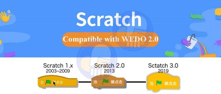 wedo 2.0 educacional brinquedos diy