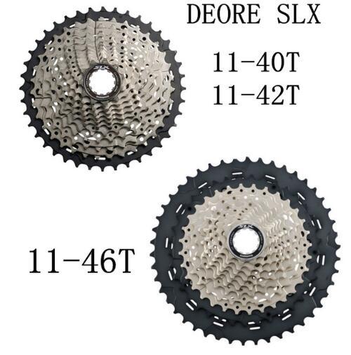 SHIMANO Deore SLX CS M7000 Cogs roue libre VTT vtt 11 vitesses M7000 pignon Cassette 11-40 T 11-42 T 11-46 T