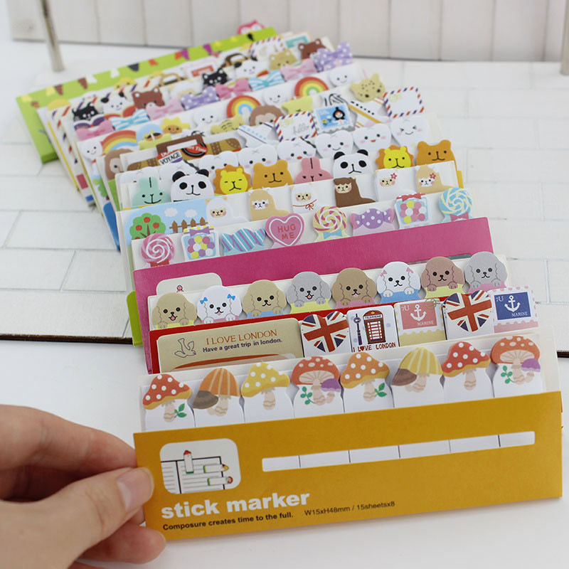 Memo Pads Funny Bookmarks Hot Sale Memo Pad Modern Sticky Notes Simple Beauty Latest Newest Practical Stickers Necessaries