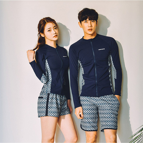 Clearance sale reputable site half off US $24.61 15% OFF|Swimming Clothes For Women Swimsuit Korea Surf Swimwear  Indoor Rash Guard Clothing Diving Korean Zipper Couple Long Sleeve 2019-in  ...