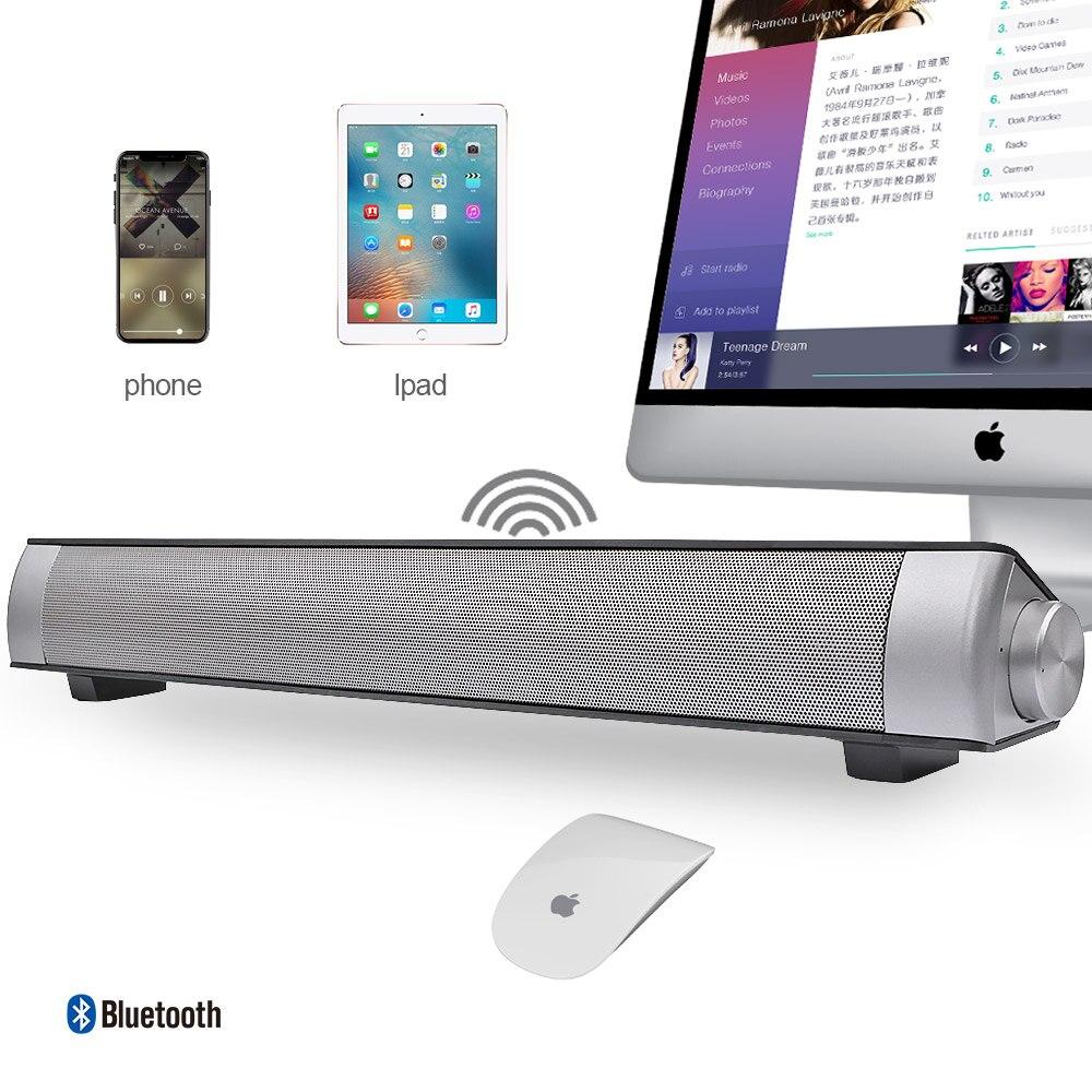 Image 5 - AIYIMA Wireless Bluetooth Hifi Stereo Loudspeaker Sound Bar Aux  3.5mm USB Column For TV PC Speaker Home Theater Sound SystemSoundbar