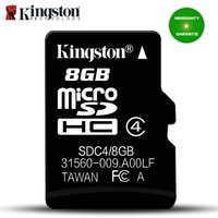 Carte mémoire Micro Sd Kingston 8 GB C4 Mini carte Sd carte UHS-I carte sd 8 gb carte Flash micro SDHC pour SmartPhone