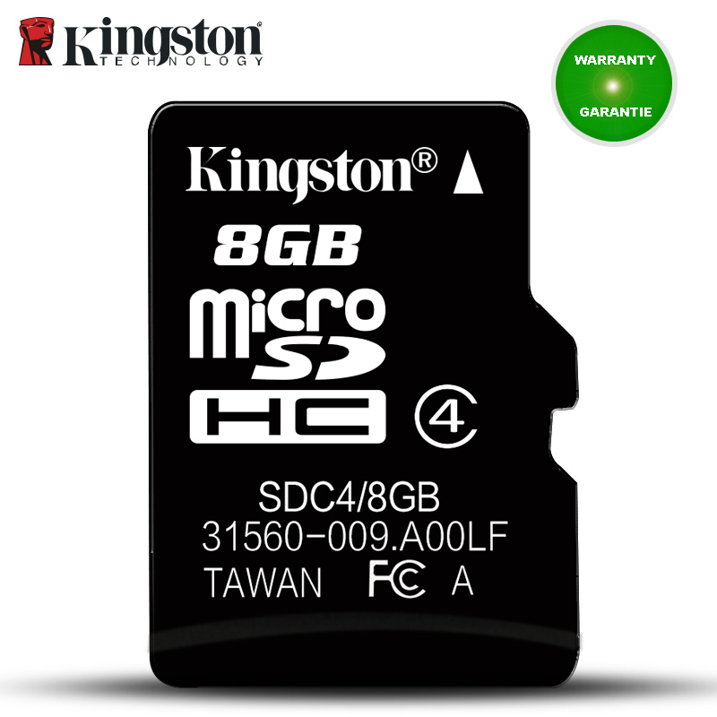 Kingston Micro Sd Memory Card 8GB C4 Mini Sd Card cartao de Memoria Card UHS-I carte sd 8gb micro SDHC Flash Card For SmartPhone sony hxr mc2000u shoulder mount avchd camcorder 8gb sdhc memory card