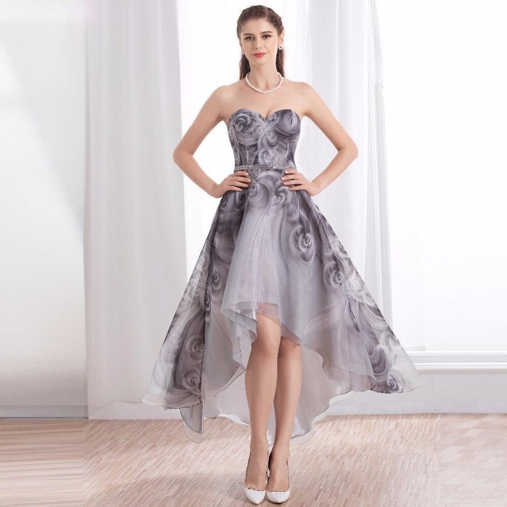 Grey Maxi Dress For Wedding