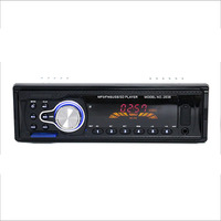 2038 12V Vehicle Audio Radio Car MP3 Player Support FM SD MP3 Player AUX IN USB