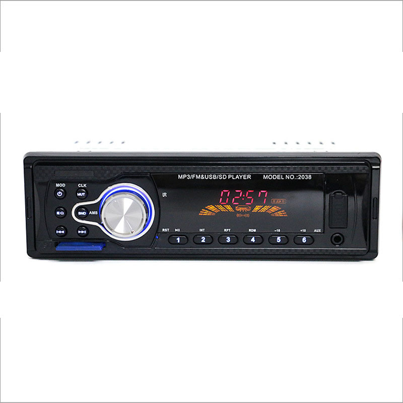 12V Voertuig Audio Radio Auto MP3-speler Ondersteuning FM SD - Auto-elektronica