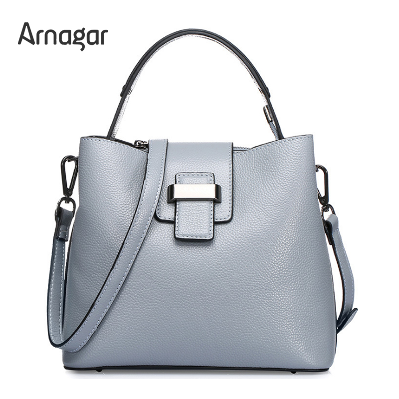 Arnagar women genuine leather bucket bag luxury handbags designer vintage shoulder tote bag 2017 ladies bags women messenger bag  luxury designer handbags women bucket messenger bag genuine leather ladies shoulder crossbody bags brand casual tote bag female