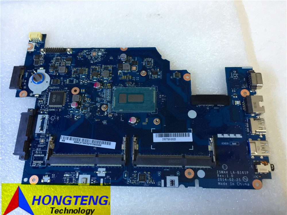 NEW genuine NBML81100C FOR font b ACER b font Aspire E5 531 E5 571 Motherboard WITH