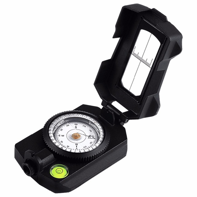[NEW]Eyeskey Professional Waterproof Multifunctional Aluminum Alloy Compass Survival Compass, Military Grade