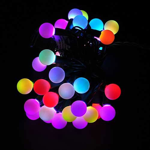 Color Changing Christmas Lights.Us 6 29 10 Off New Multi Color Changing Led Rgb Ball String Christmas Xmas Lights Belt Light For Indoor And Outdoor Decoration In Glow Party