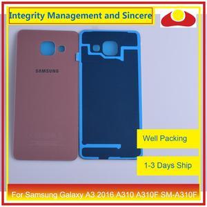 Image 5 - Original para Samsung Galaxy A3 2016 A310 A310F SM A310F A310H carcasa batería puerta trasera carcasa chasis carcasa