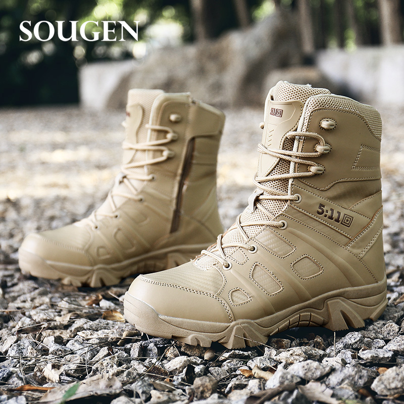 Tactical Boots Male Shoes Adult Mens The Military Boots Mens Army Plus Big Size Combat Boot for Men Askeri Bot Esdy Shoe Desert все цены