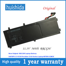 11,4 V 56WH RRCGW аккумулятор для ноутбука Dell RRCGW M7R96 62MJV Precision 5510 XPS 15 9550 XPS15 9550 series