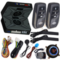 smart key ignition start stop button car security alarm system bypass chip key immobilizer output after engine start action