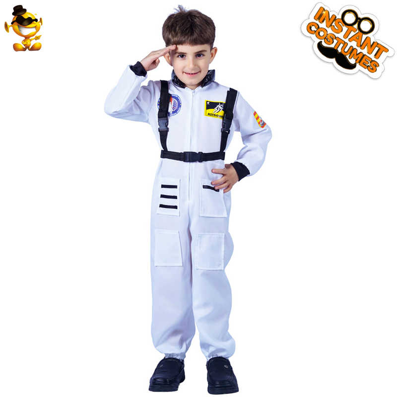 DSPLAY Original New style Handsome Kids Astronauts Boys Fancy Costume For Christmas New Year Party Cosplay