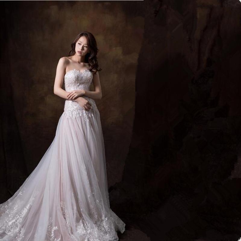 New Arrival Lace Appliques Sheath Wedding Dresses 2019