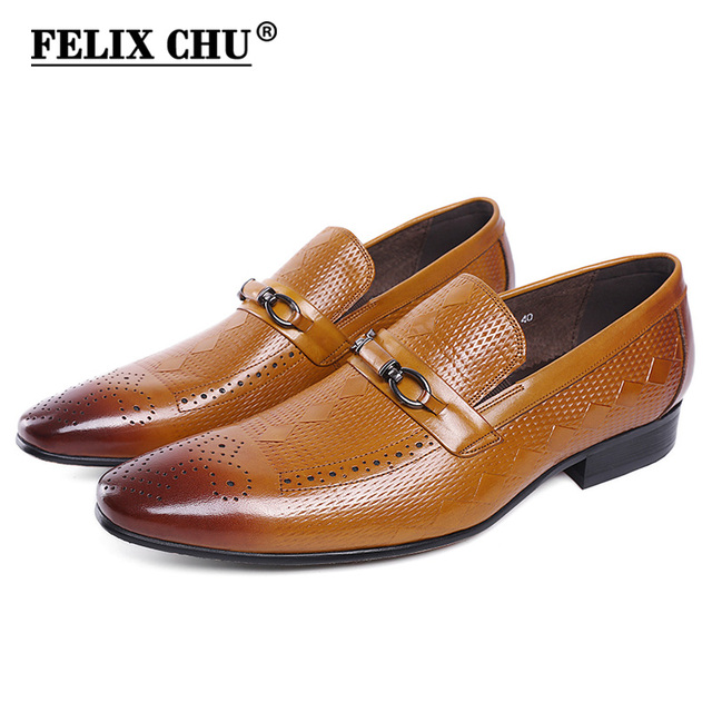 Men's Business Shoes Men Dress Shoe With Metal Button Shoes