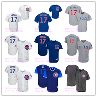 Men S Chicago Cubs Kris Bryant Jersey 17 White Gray Royal Players Weekend Gold Program Player