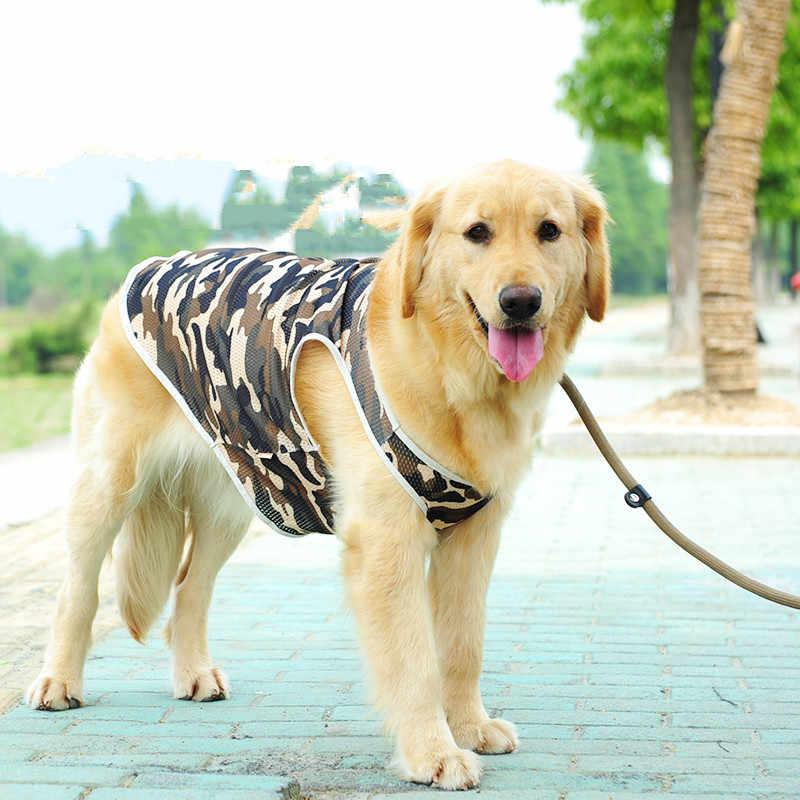 e7e3be348a69 ... Large Dog Vest Big Dog Clothes Summer T-shirt Rottweiler Husky Golden  Retriever Samoyed Big ...