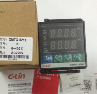 c-linTemperature Controller XMTG-5211  AC220V    type k  0-400 Digital thermostat display genuine shanghai yatai xmt 3000 xmtg 3412 xmtg 3412 n temperature controller