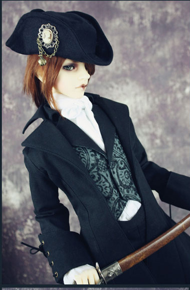 Limited European Knight Retro Outfit Suit 6pcs for BJD Doll 1 3 SD10 SD13 SD17 IP