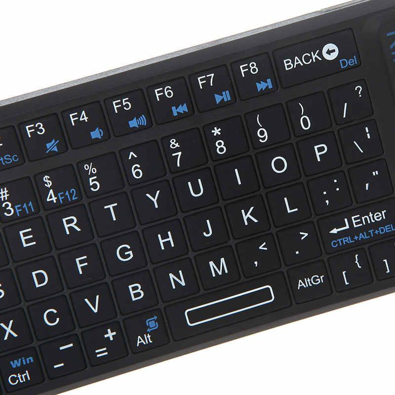 Mini X1 Cầm Tay 2.4G Không Dây Bàn Phím QWERTY Chơi Game Bàn Di Chuột Chuột dành cho Điện Thoại MÁY TÍNH Xách Tay Thông Minh Smart TV Box Game Thủ giải trí