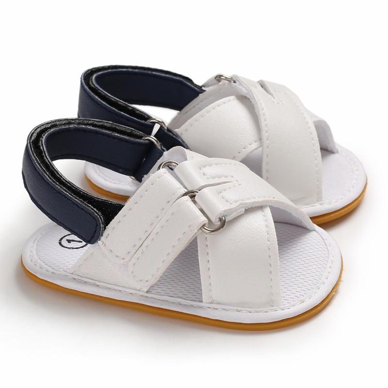 Summer Baby Boy Girl Sandals Infant Toddler Kids Soft Sole Crib Shoes Prewalkers