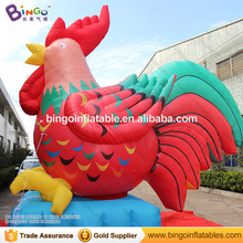 Top design popular advertising inflatable chicken giant inflatable rooster for sale BG-A1270-3