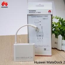 Original Huawei MateDock 2 Dock Station for HUAWEI MateBook E HUAWEI MateBook X Huawei Mate phone Type C Dock cheap Mate Dock 2