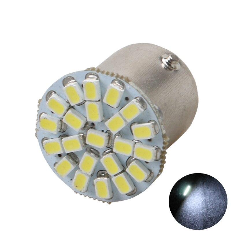 1156 BA15S 1157 BA15D 1206 22 SMD LED Brake Turn side marker Light Auto mobile Wedge