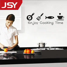 Jiangs Yu 1 PC New Design Creative DIY Wall Stickers Kitchen Decal Home Decor Restaurant Decoration Wallpaper
