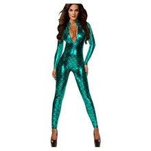 Women Sexy Snake Print Lingerie Faux Leather Night Club jumpsuit Bodysuit Adult Latex PVC Catsuit Zipper fetish Erotic Lingerie