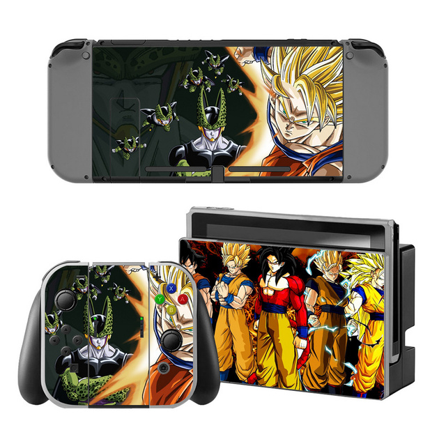 Dragon Ball Sticker for Nintendo Switch Console Protector Cover Decal Vinyl Skin for Skin Sticker For Nintendo Switch Accessory 2