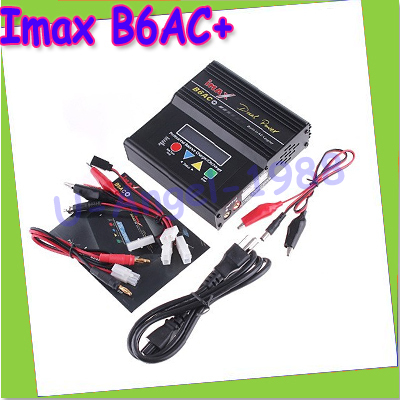 Battery Charger Imax B6AC + B6AC+ LiPo/Li-Ion/LiFe/NiMH/Nicad/PB RC Balance Charger New+free shipping 2013 hot sale orignal imax rc imaxrc intelligent balance multifunction battery lipo life li lon charger low s battery helikopter